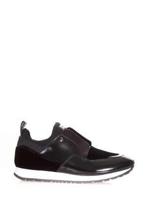 SNEAKERS SLIP ON IN PELLE LUCIDA E VELLUTO AI 2017 TOD