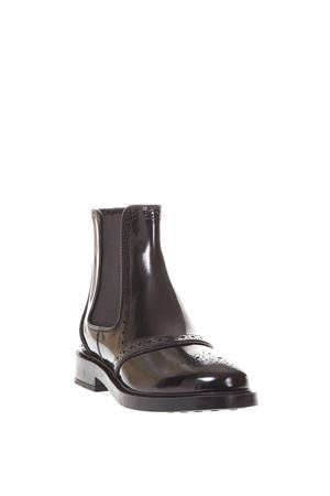 ANKLE BOOT IN LEATHER FW 2017 TOD