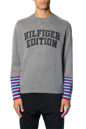 PULLOVER IN MISTO LANA SILVER AI 2017 TOMMY HILFIGER | 16 | MW0MW039781043