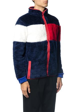 GIACCA IN PILE COLOR BLOCK AI 2017 TOMMY HILFIGER | 19 | MW0MW043421403
