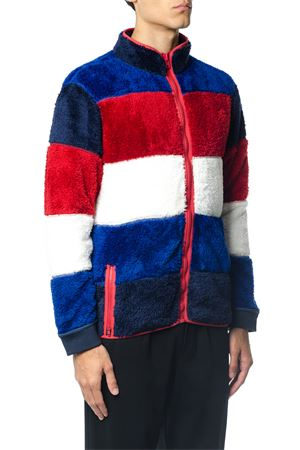 GIACCA IN PILE COLOR BLOCK ai 2017 TOMMY HILFIGER | 19 | MW0MW043421491
