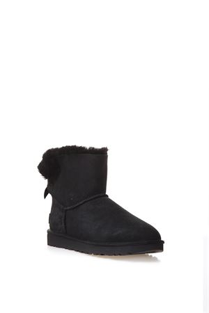 MINI BAILEY BOOTS WITH BOW DETAIL FW 2017 UGG AUSTRALIA | 52 | 1016501MINI BAILEYBLACK