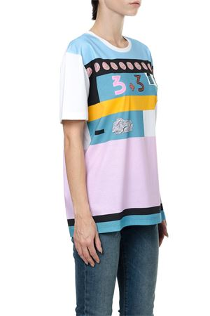COUNTING MOTIF JERSEY T-SHIRT FW 2017 VALENTINO | 15 | NB0MG06H3NF0BO