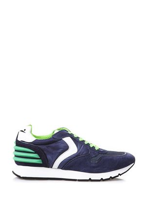 Sneakers Liam Power indigo mesh and nylon FW 2017 VOILE BLANCHE | 55 | LIAM POWER001 2011715 03 9126INDACO/BLU/BIANCO