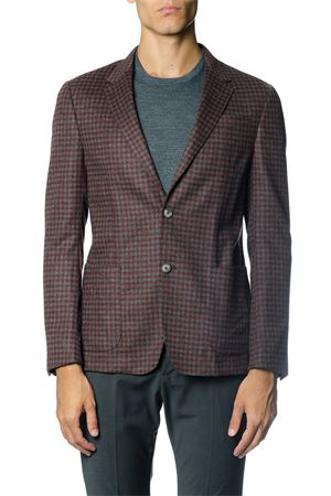 SINGLE BREASTED WOOL BLEND JACKET FW 2017 Z ZEGNA | 14 | 2507091DNMG0R