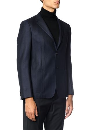 CHEVRON WOOL SINGLE BREASTED JACKET FW 2017 Z ZEGNA | 14 | 2548601DNMG0R