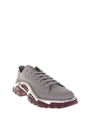 DETROIT GREY CANVAS RUNNER SNEAKERS FW 2018 ADIDAS BY RAF SIMONS | 55 | F34247DETROITRUNNER
