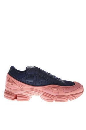 RS OZWEEGO SNEAKERS IN BLUE & PINK LEATHER FW 2018 ADIDAS BY RAF SIMONS | 55 | F34268OZWEEGOBLU