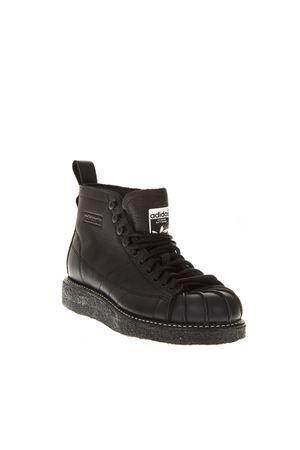 SNEAKERS SST LUXE IN PELLE NERA AI 2018 ADIDAS ORIGINALS | 55 | AQ1250SUPERSTAR BOOT LCORE BLACK