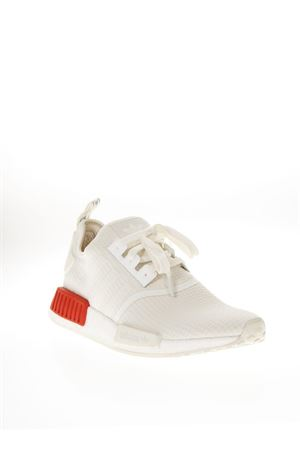 SNEAKER NMD R1 BIANCA IN NYLON AI 2018 ADIDAS ORIGINALS | 55 | B37619NMD R1OFF WHITE