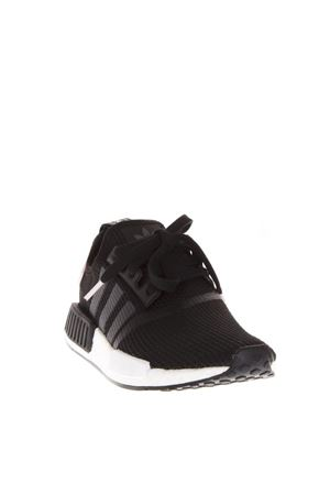 CORE BLACK MESH SNEAKERS FW 2018 ADIDAS ORIGINALS | 55 | B37649NMD R1 WCORE BLACK