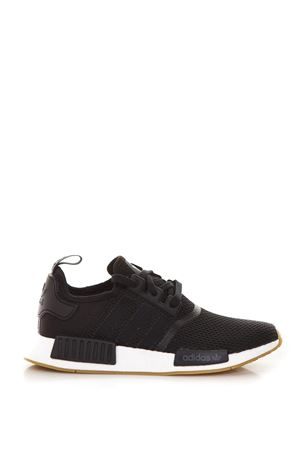BLACK NMD R1 SNEAKERS IN MESH FW 2018 ADIDAS ORIGINALS | 55 | B42200NMD R1CORE BLACK