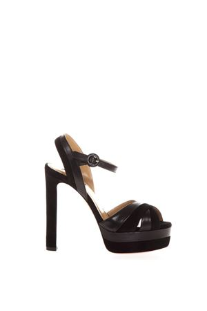 BLACK SUEDE & LEATHER SANDALS FW 2018 AQUAZZURA | 87 | COQHIGB0SUN-000BLACK