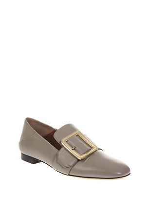 JANELLE TAUPE COLOR LOAFERS IN LEATHER FW 2018 BALLY | 130 | 6221048JANELLE22540