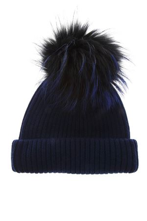 ROYAL BLUE WOOL HAT FW 2018 BKLYN | 17 | ROYAL BLUE HATBLACK BLUE POM1