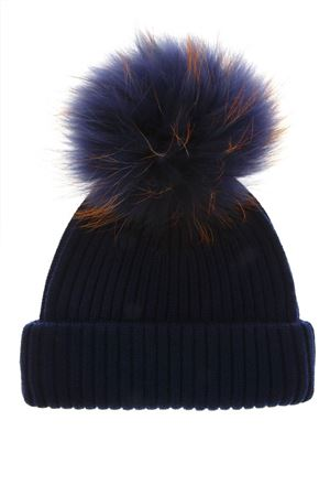 ROYAL BLUE WOOL HAT FW 2018 BKLYN | 17 | ROYAL BLUE HATNEVY ORANGE POM1