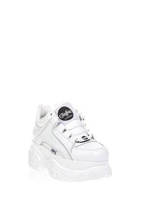 WHITE HIGH BUFFALO SNEAKER IN LEATHER FW 2018  BUFFALO | 55 | BFL1339-14-BL1BIANCO