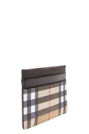 CHECK VINTAGE CARD CASE IN LEATHER FW 2018 BURBERRY | 110000025 | 40746371BLACK