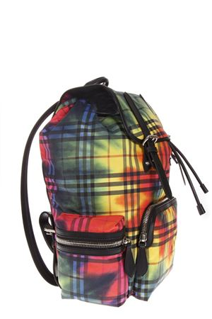 ZAINO ROCKSACK IN COTONE MULTICOLOR AI 2018 BURBERRY | 183 | 407788711