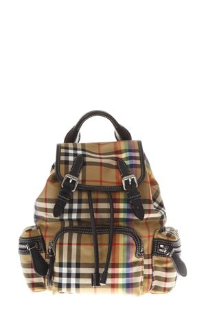 MULTICOLOR SMALL RUCKSACK NYLON BACKPACK FW 2018 BURBERRY | 183 | 40787711YELLOW