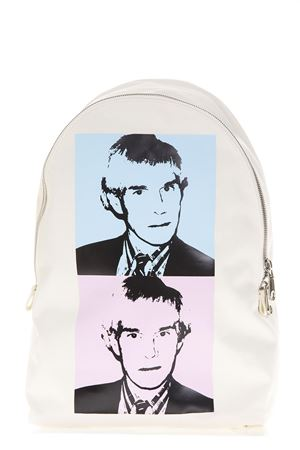 WHITE ANDY WARHOL PORTRAIT IN FABRIC FW 2018 CALVIN KLEIN ANDY WARHOL | 183 | K40K400866UNI911