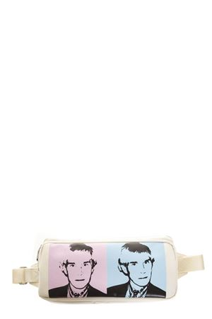 CREAM COLOR ANDY WHAREL BAG IN FABRIC FW 2018 CALVIN KLEIN ANDY WARHOL | 2 | K40K400867UNI911