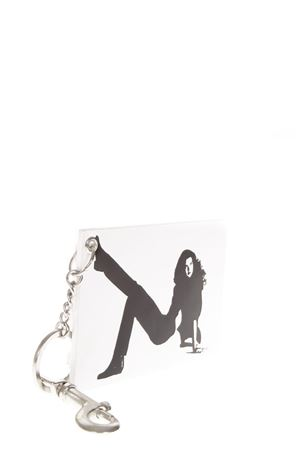 WHITE & BLACK LEATHER KEY HOLDER FW 2018 CALVIN KLEIN JEANS EST.1978 | 5 | J40J400018UNI112