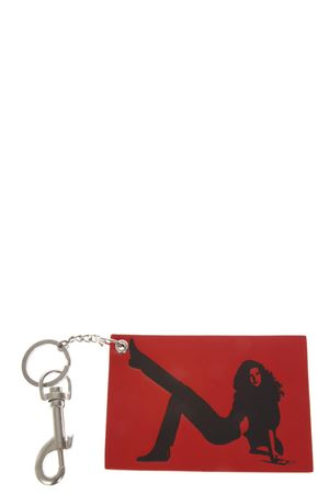 RED & BLACK LEATHER KEY HOLDER FW 2018 CALVIN KLEIN JEANS EST.1978 | 5 | J40J400018UNI676