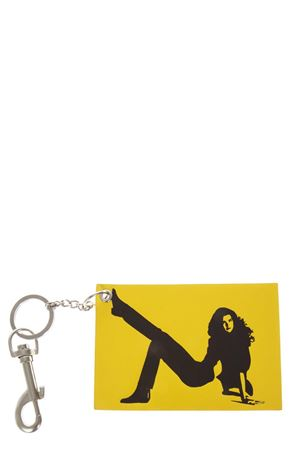 YELLOW & BLACK LEATHER KEY HOLDER FW 2018 CALVIN KLEIN JEANS EST.1978 | 5 | J40J400018UNI795