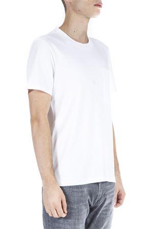 WHITE COTTON T-SHIRT FW 2018 CALVIN KLEIN   15   K10K102691UNI105