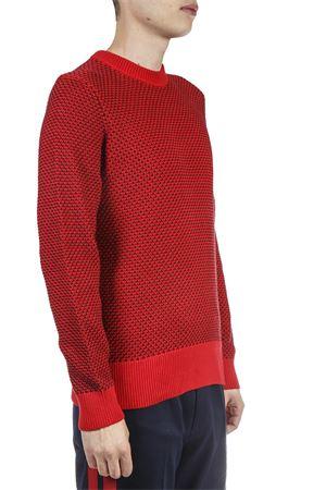 RED COMBED COTTON SWEATER FW 2018 CALVIN KLEIN | 16 | K10K102735UNI661