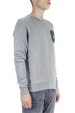 GREY COTTON SWEATSHIRT WITH LOGO AI 2018 CALVIN KLEIN | 19 | K10K102891UNI092