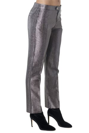 METALLIC GRAY TAILORED TROUSERS FW 2018 CHLOÉ | 8 | C18APA96030UNI23B