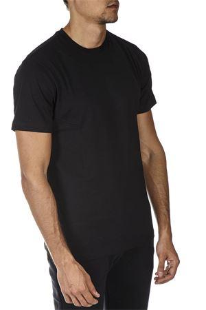 BLACK COTTON T-SHIRT FW 2018 COLMAR ORIGINALS   15   75206SH99
