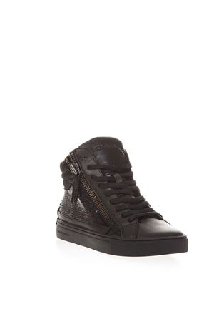 SNEAKERS IN PELLE NERE AI 2018 CRIME LONDON | 55 | 25140AA1B120