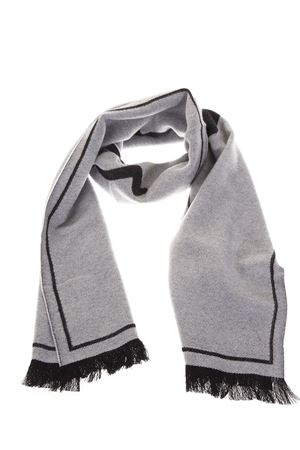WOOL & SILK GREY/BLACK SCARF FW 2018 DESTIN | 20 | MSSCGAG141G14