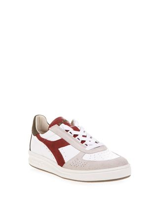 ... ELITE WHITE   RED LEATHER SNEAKERS FW 2018 DIADORA HERITAGE  35867ef8bd1