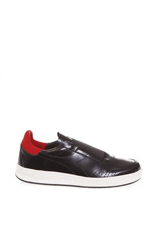 LEATHER BLACK/RED SHOES FW 2018 DIADORA HERITAGE | 55 | 201.172786B.ELITE ITA DESIGNC0808