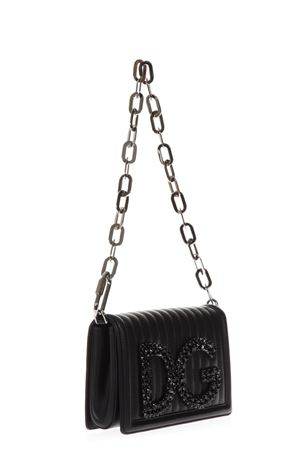 DG GIRGLS BLACK LEATHER BAG FW 2018/2019 DOLCE & GABBANA | 2 | BB6498AU30980999