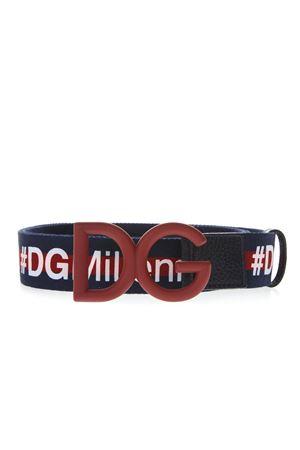 I LOVE DG BLUE BELT FW 2018 DOLCE & GABBANA | 12 | BC4251AV3408G600