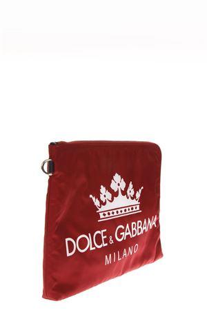 D&G MILANO RED NYLON CLUTCH FW 2018 DOLCE & GABBANA | 2 | BP269AAU786HXR18