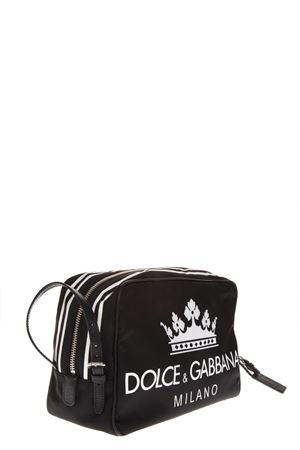 D&G BLACK LOGO POUCH FW 2018 DOLCE & GABBANA | 2 | BT0976AU361HNR18