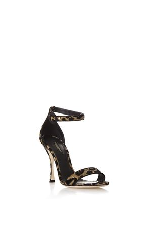 HIGH LEOPARD KEIRA SANDALS FW 2018/2019 DOLCE & GABBANA | 87 | CR0500AU5958I972