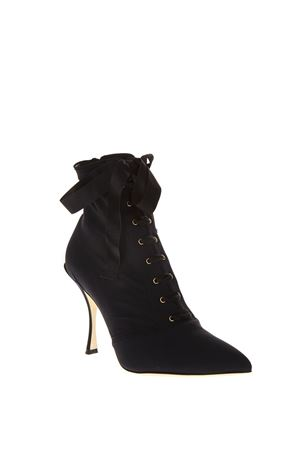 BLACK LACE-UP ANKLE BOOTS FW 2018 DOLCE & GABBANA | 52 | CT0471AZ16180999