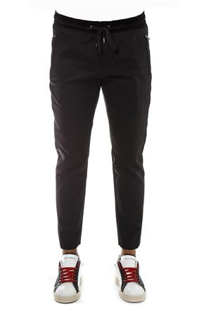 BLACK STRETCH COTTON JOGGING PANTS FW 2018 DOLCE & GABBANA | 8 | GYY5ETFUFGIN0000