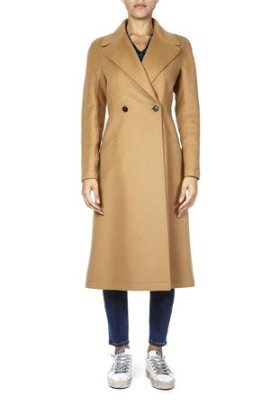 CAMEL WOOL DOUBLE BREASTED COAT FW 2018 DONDUP | 31 | DJ151WF0147XXXUNI728