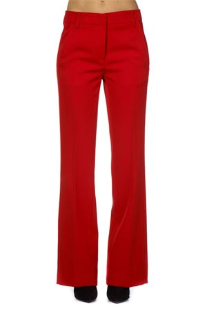 RED CREPE FLARED TROUSERS FW 2018 DONDUP | 8 | DP132GF0034XXXMARION552