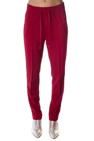 RED SPORT PANTS IN FABRIC FW 2018 DONDUP | 8 | DP369OS0091XXXLOTTIE 537