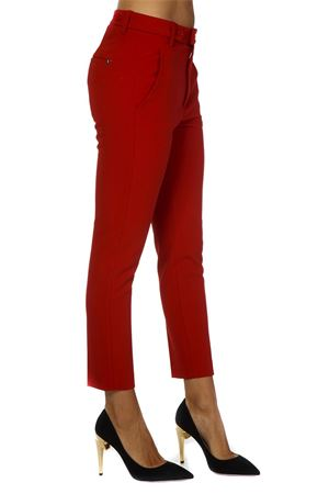 RED FABRIC CROPPED PANTS FW 2018 DONDUP | 8 | DP377OS0090XXXDEIDRA552