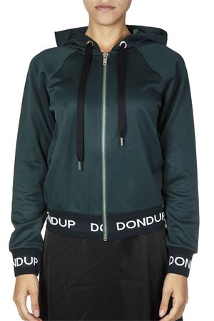 GREEN COTTON SWEATSHIRT FW 2018 DONDUP | 16 | F155KF0164XXXUNI676